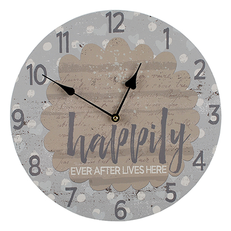Happily Ever After Clock