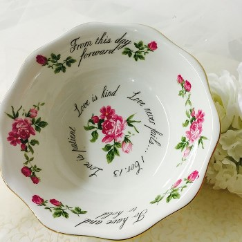 Christian Wedding Bowl