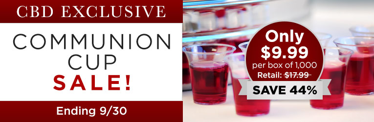 CBD Communion Cup Sale