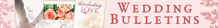 Wedding Bulletins & Program Covers