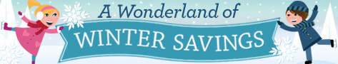 Winter Worderland of Savings