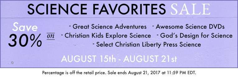Science Favorites Sale