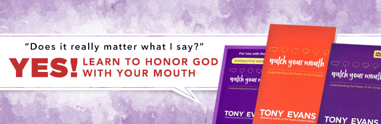 Watch Your Mouth, DVD & Workbook, by Tony Evans