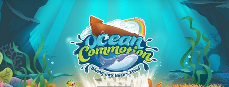 Ocean Commotion VBS Banner