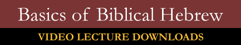 Basics of Biblical Hebrew Download