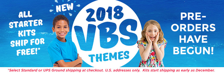 Vacation Bible School 2018 - Shop Starter Kits