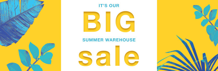 Summer Warehouse Sale thru Monday, July 3rd