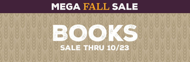 Mega Fall Books Sale thru 10/23