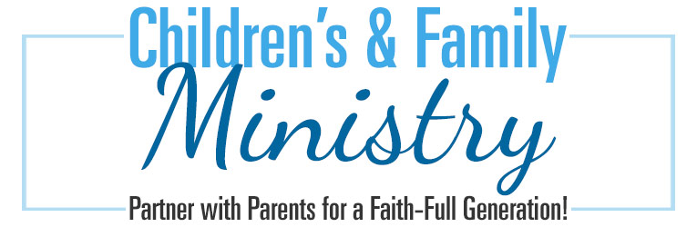 Children's & Family Ministry Banner