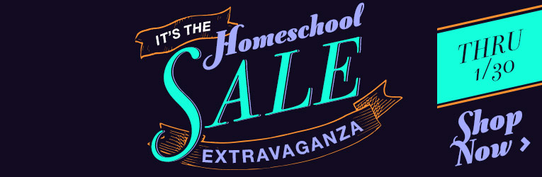 Homeschool Sale Extravaganza