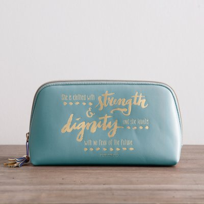 strength & dignity cosmetic bag