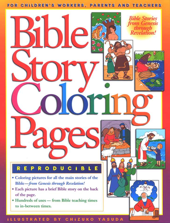Bible Story Coloring Pages 9780830718696