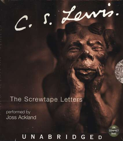 the screwtape letters audiobook on cd narrated by joss ackland by cs lewis 9780060093662 christianbookcom