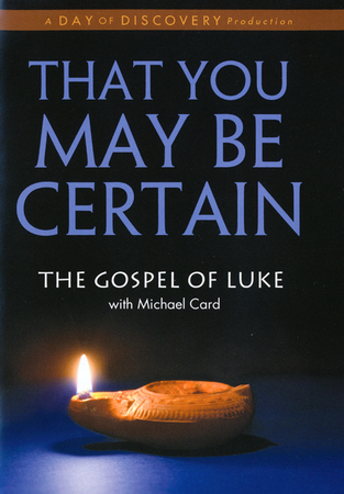 That you may be certain the gospel of luke with michael card dvd that you may be certain the gospel of luke with michael card dvd christianbook fandeluxe Choice Image