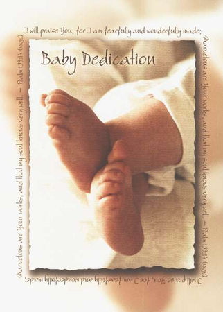 Baby Dedication Certificates   ChristianbookCom