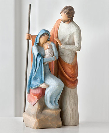 Willow Tree ® The Christmas Story Nativity, Holy Family: Susan ...