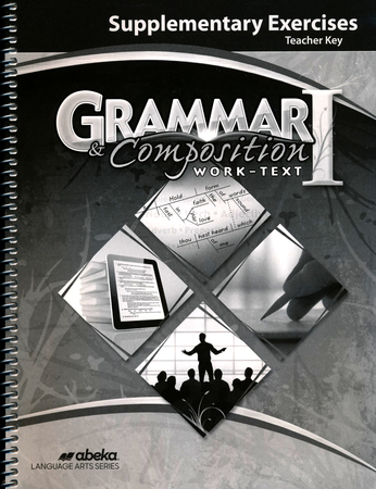 A beka book language arts grade 7 christianbook abeka grammarcomposition 1 supplemental exercises key fandeluxe Choice Image