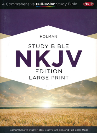 holman study bible nkjv large print edition hardcover  holman study bible nkjv large print edition hardcover 9781433607509 com