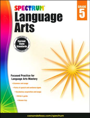 Spectrum language arts grade 5 2014 update 9781483812090 spectrum language arts grade 5 2014 update 9781483812090 christianbook fandeluxe Choice Image