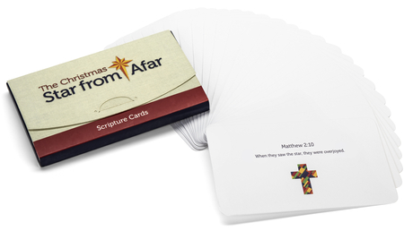 The Christmas Star From Afar Nativity Scripture Cards ...