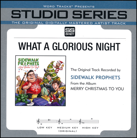 What A Glorious Night: Sidewalk Prophets - Christianbook.com