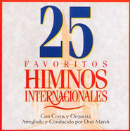 25 Himnos Internacionales Favoritos, CD    -