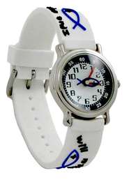 Fishers of Men Child's Watch, White  -