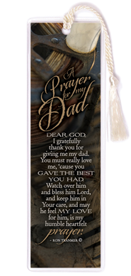 A Prayer for My Dad Bookmark  -