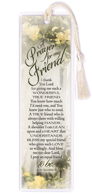 A Prayer for My Friend Bookmark  -