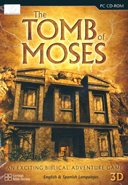 The Tomb of Moses Game on CD-ROM   -