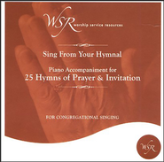25 Hymns of Prayer and Invitation, Acc CD   -