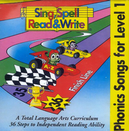 Sing, Spell, Read & Write Level 1 Audio CDs   -