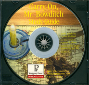 Carry On, Mr. Bowditch Study Guide on CDROM  -