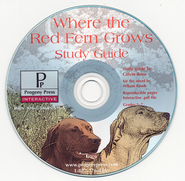 Where the Red Fern Grows Study Guide on CDROM  -