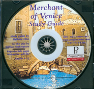 Merchant of Venice Study Guide on CDROM  -