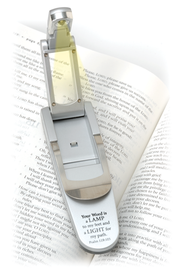 Hydraulic Pop-Up Book Light, Thy Word, Silver   -