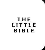 The Little Bible, White Leatherette, Pack of 10    -