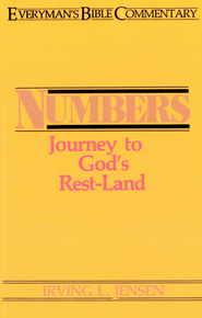 Numbers- Everyman's Bible Commentary - eBook  -     By: Irving L. Jensen
