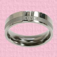 Love Women's Ring, Size 8  -