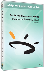 Art in The Classroom Series: Throwing on the Pottery Wheel DVD  -