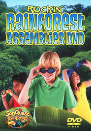 Rockin' Rainforest Assemblies DVD  -