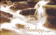 Thinking of You Waterfall (Romans 5:1) Postcards, 25  -