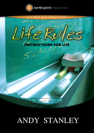 Life Rules Study Guide: Instructions for the Game of Life - eBook  -     By: Andy Stanley