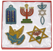 Holy Land Tree Ornaments Set of 5   -