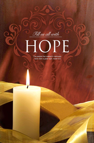 Fill Us with Hope (Isaiah 9:2) Advent Bulletin #1, 100  -