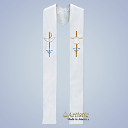 Reversible Stole for Wedding or Baptism    -