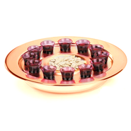 Brasstone Small-Group Communion Tray  -
