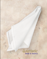 Communion Corporal, 20 x 20, Fine Linen & Poly Blend   -
