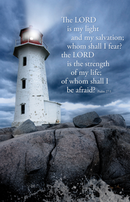 Lord Is My Light (Psalm 27:1) Bulletins, 100  -