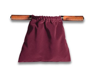 Large Velvet Offering Bag (Maroon)  -